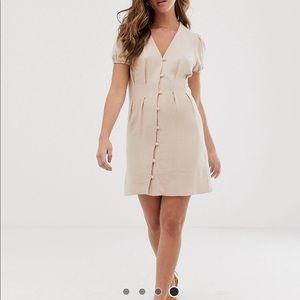NWT ASOS New Look Button Tea Dress
